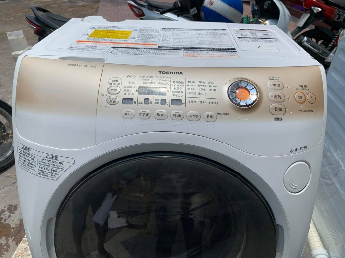 Máy Giặt Nội Địa Toshiba Tw-Q860 Sấy Block Đời 20122