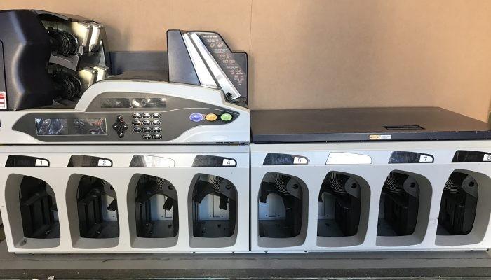 Máy kiểm đếm và phân loại tiền Glory UW-6001