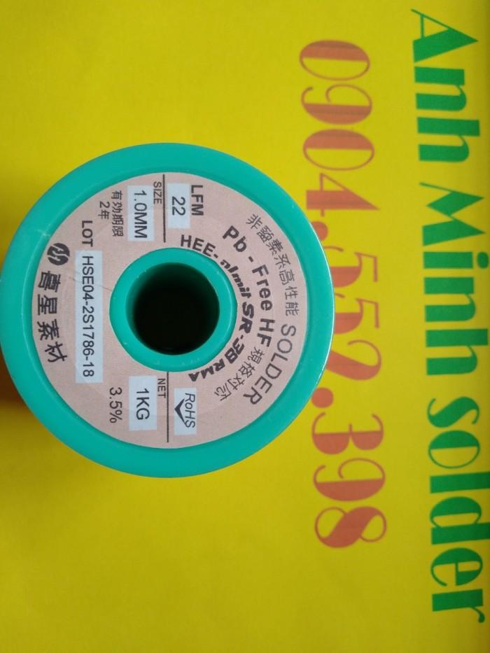 Kem hàn không chì HEESUNG AMIT  LFM-48W-TM-HP(Y) 3%AG8