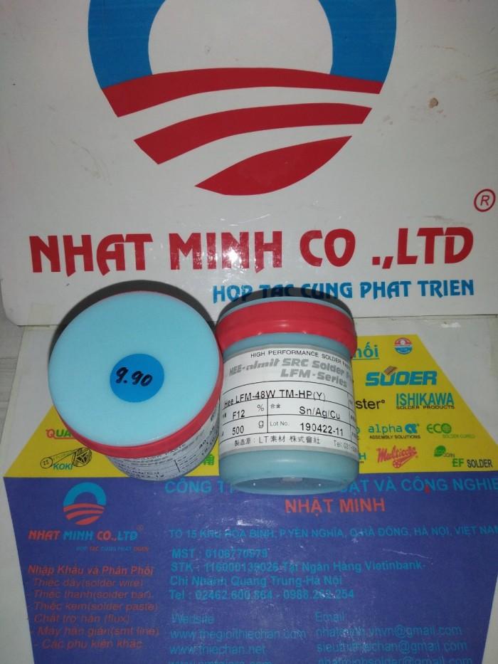 Kem hàn không chì HEESUNG AMIT  LFM-48W-TM-HP(Y) 3%AG14