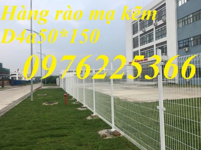 Nhận sản xuất hàng rào lưới thép ,hàng rào mạ kẽm3