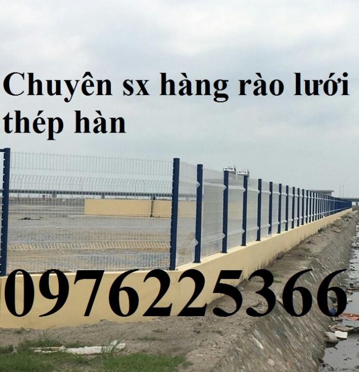 Nhận sản xuất hàng rào lưới thép ,hàng rào mạ kẽm0