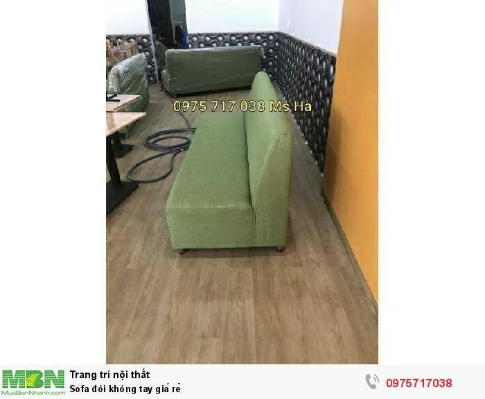 Sofa đôi không tay giá rẻ