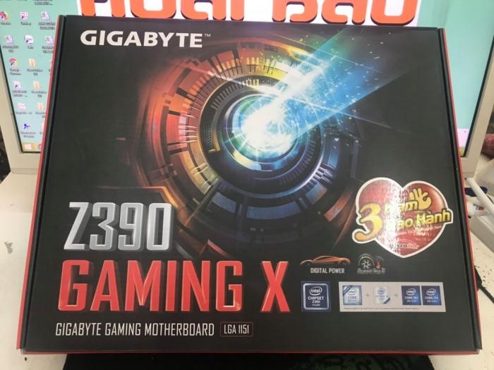 Mainboard Gigabyte Z390 Gaming X Socket LGA 1151v2 chính hãng1