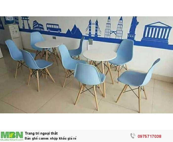Bàn ghế cames nhập khẩu giá rẻ