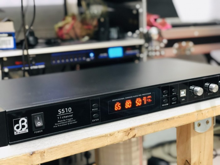 Vang Số Mixer Karaoke dB Acoustic S510 Plus5