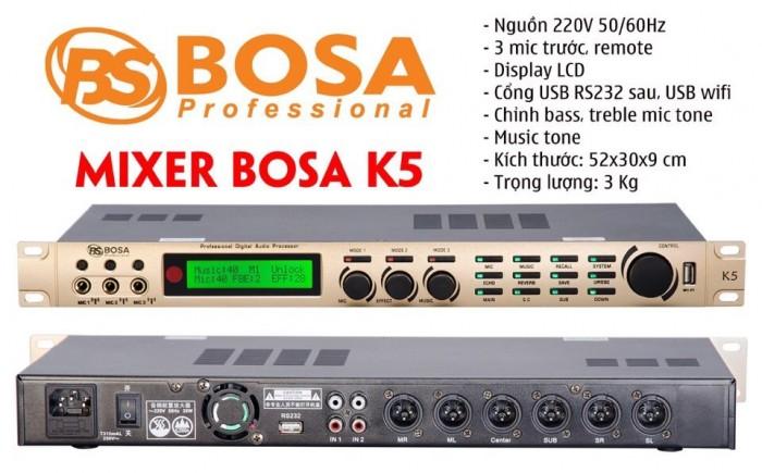 Vang Số karaoke chống hú BOSA K51
