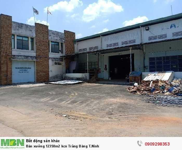 Bán xưởng 12350m2 kcn Trảng Bàng T.Ninh