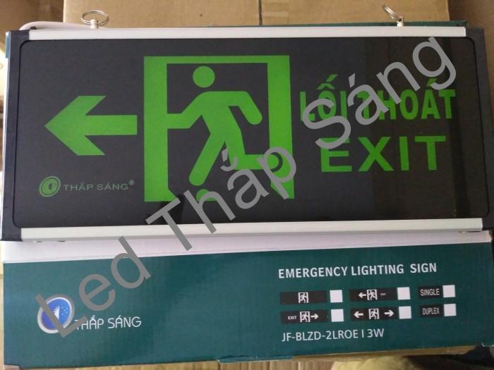 đèn báo thoát hiễm exit trái phải0