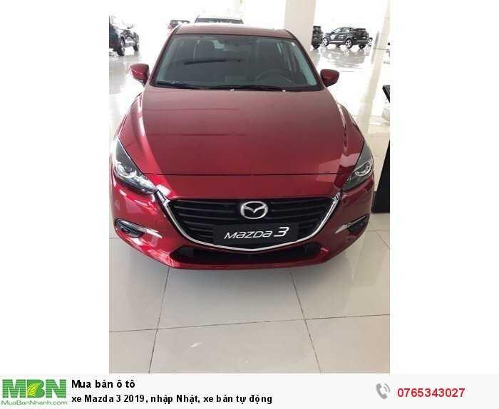 Mazda Mazda 3 Sedan sản xuất năm 2019 Số tự động Động cơ Xăng