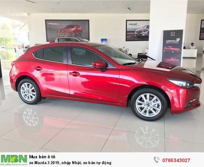 xe Mazda 3 2019, nhập Nhật, xe bán tự động 1