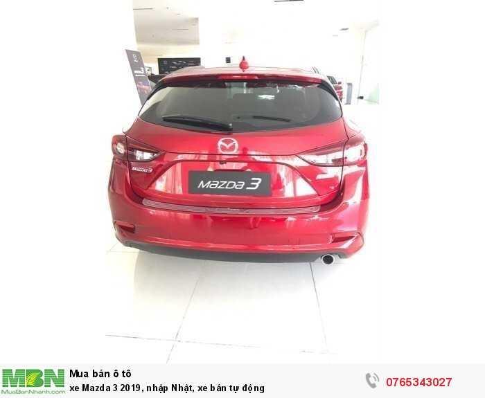 xe Mazda 3 2019, nhập Nhật, xe bán tự động 2