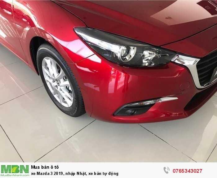 xe Mazda 3 2019, nhập Nhật, xe bán tự động 3
