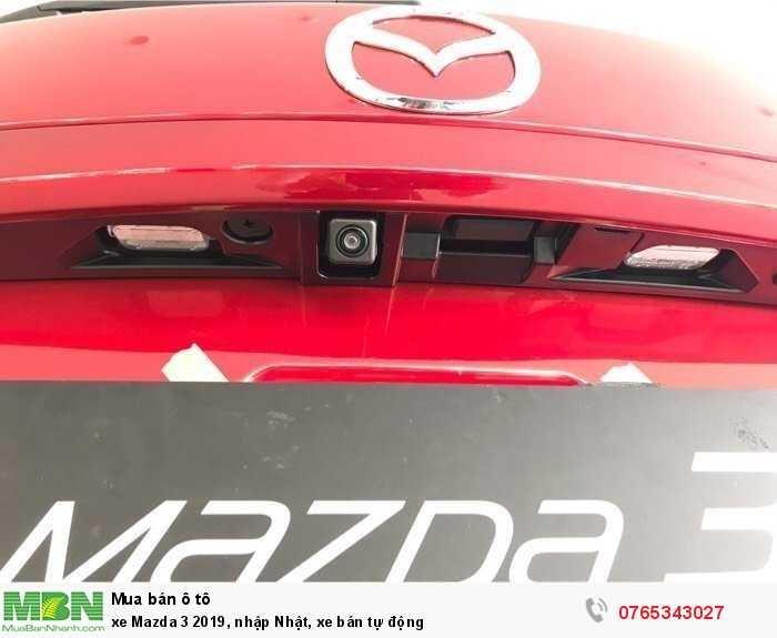 xe Mazda 3 2019, nhập Nhật, xe bán tự động 4