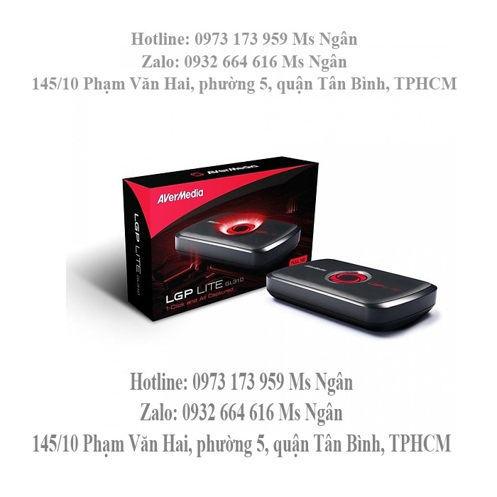 Ghi hình HDMI cao cấp Avermedia GL310 hỗ trợ fullHD 1080p - GL3102