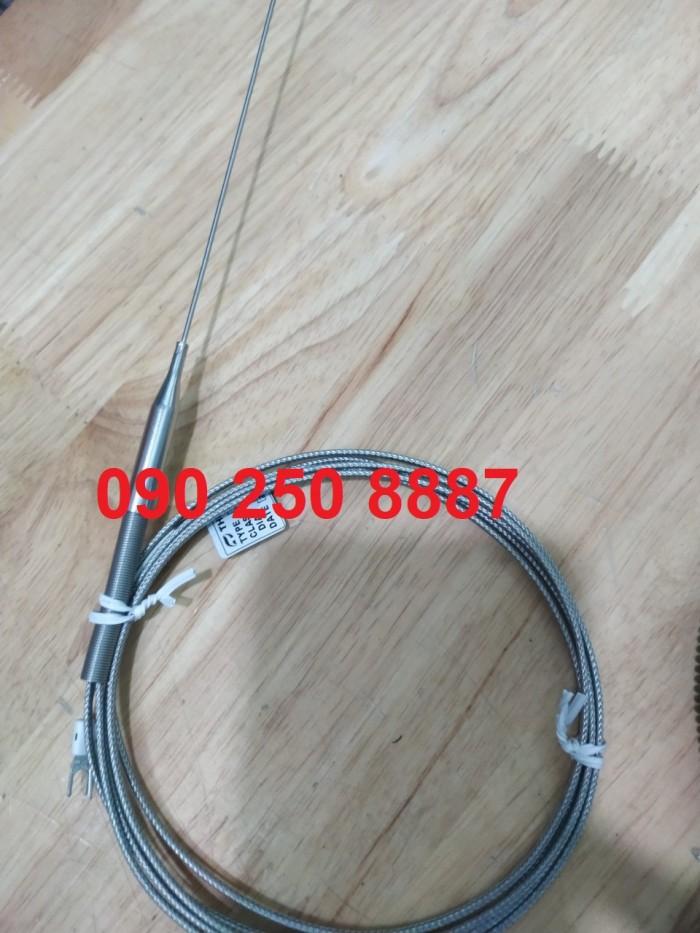 Đầu dò nhiệt, cảm biến phi 1,5mm * 150 ra dây 2m3