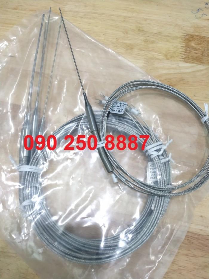 Đầu dò nhiệt, cảm biến phi 1,5mm * 150 ra dây 2m2