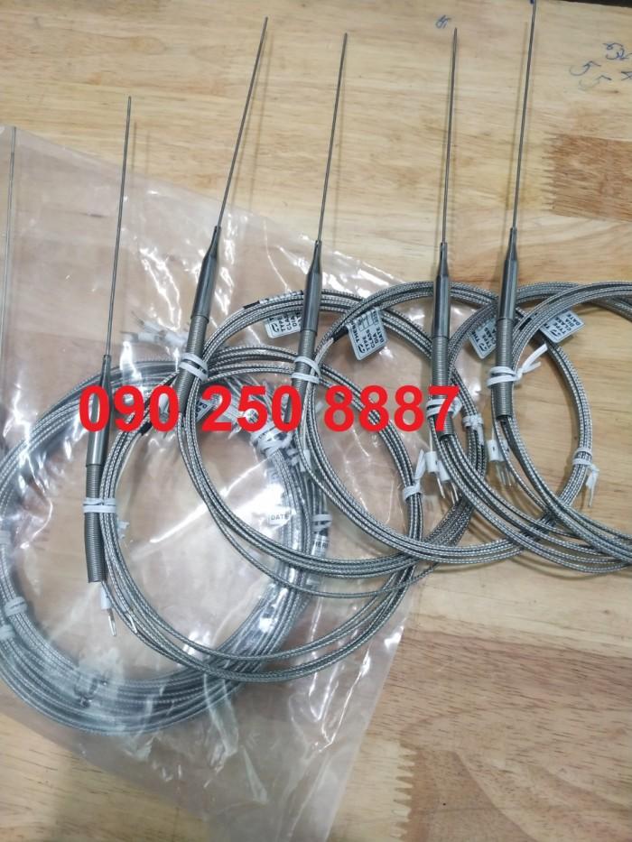 Đầu dò nhiệt, cảm biến phi 1,5mm * 150 ra dây 2m1