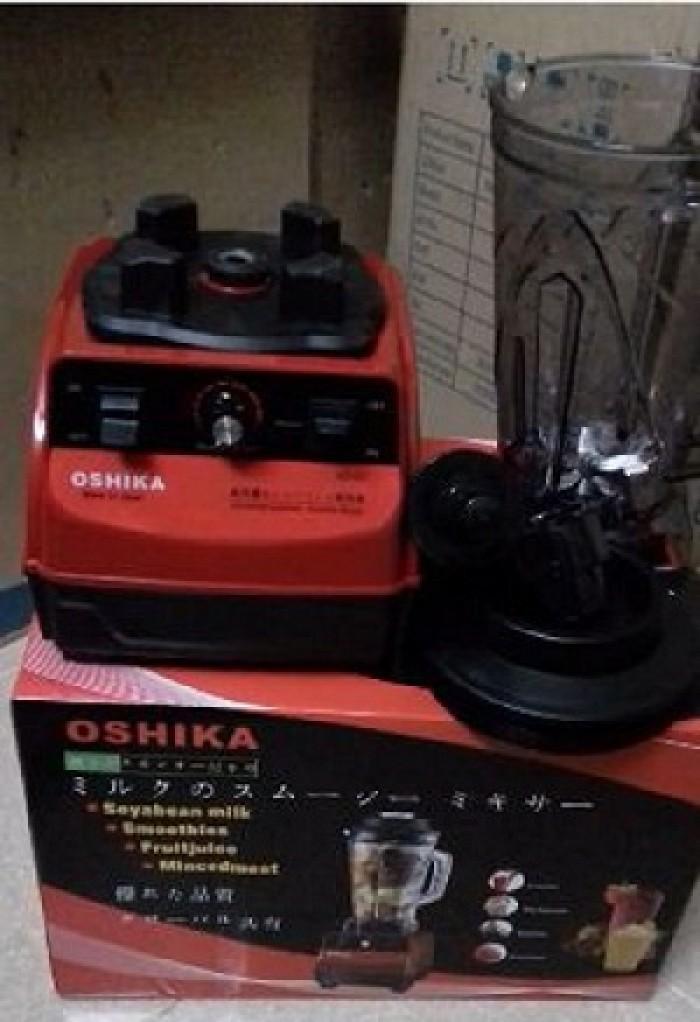 Máy xay sinh tố công nghiệp Nhật Bản ,máy xay đậu nành Oshika HD-03 công suất 2500W thể tích cối 3.8 lít0