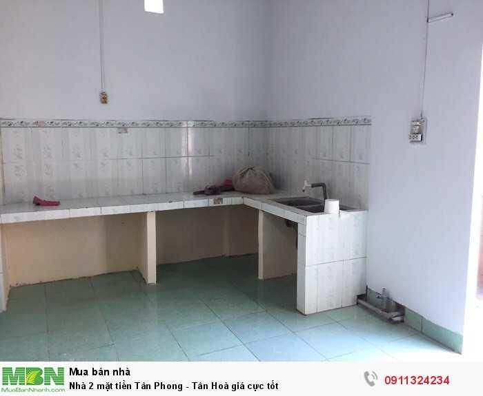 Nhà 2 mặt tiền Tân Phong - Tân Hoà giá cực tốt