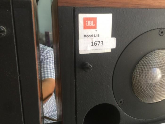 Chuyên bán Loa JBL L15 hàng bải tuyển chọn về
