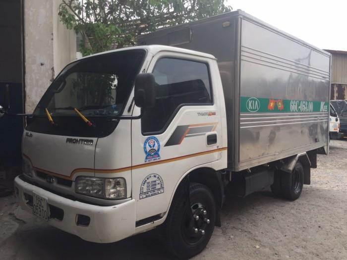 Bán Kia k165 2016 cũ thùng kín full inox 9