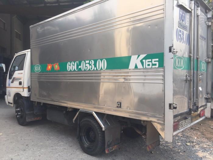 Bán Kia k165 2016 cũ thùng kín full inox 8