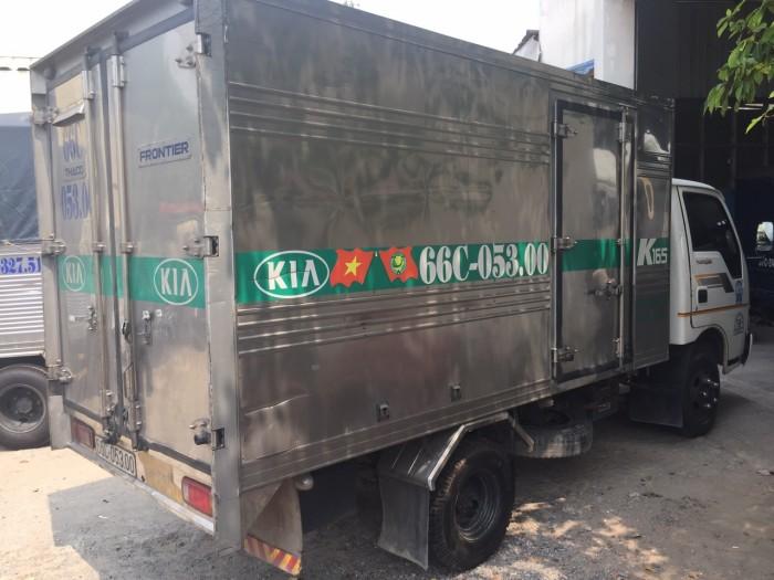 Bán Kia k165 2016 cũ thùng kín full inox 6