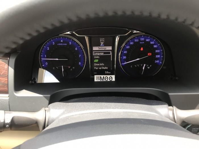 Bán xe Camry 2.0E đời 2019, một đời chủ mới chạy vòng vong 59km, đăng kiểm lần đầu 3/4/2019 9