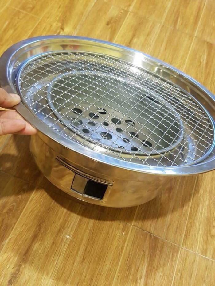 Bếp nướng thịt bằng than hoa đặt âm bàn giá rẻ0