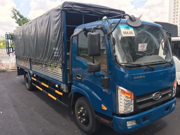 Bán xe tải veam 1 tấn 9 thùng mui bạt 6m2 - hỗ trợ trả góp lên đến 90%