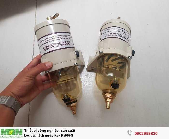 Lọc dầu tách nước  Rex R500FG