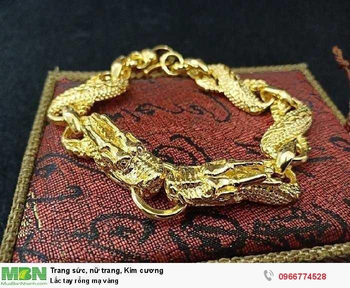 Lắc tay rồng mạ vàng0