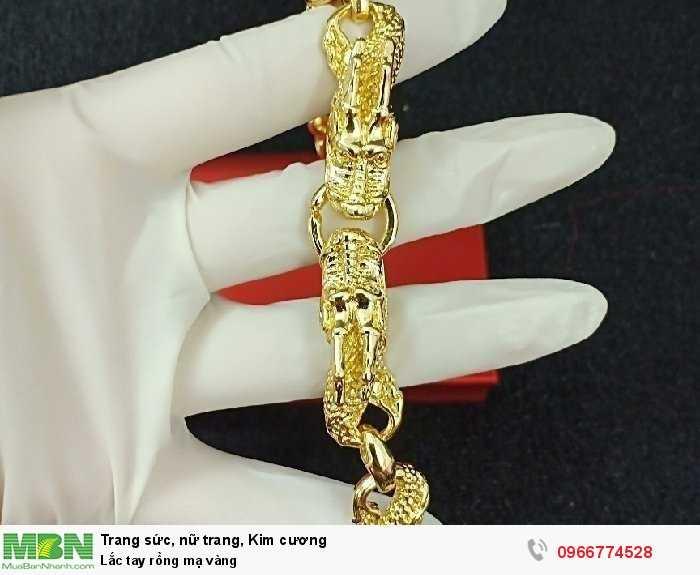 Lắc tay rồng mạ vàng1