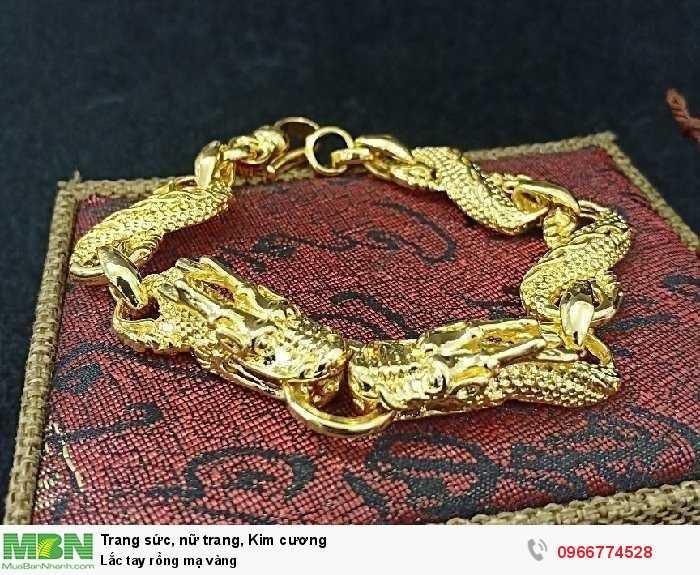 Lắc tay rồng mạ vàng2