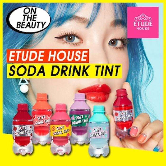 Sét Son Lì Trái Cây 5 Chai Soft DRink Tint7