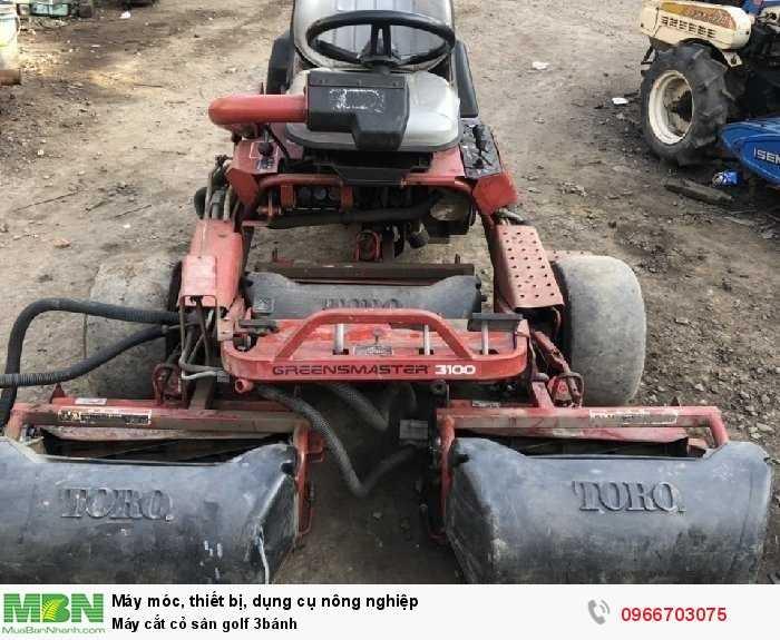 Máy cắt cỏ sân golf 3 lưỡi cắt bằng thép