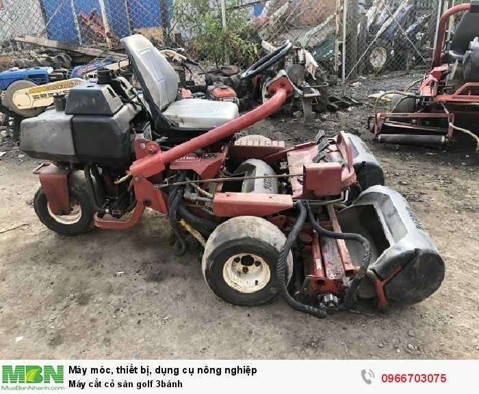 Máy cắt cỏ sân golf 3 lưỡi cắt bằng thép3