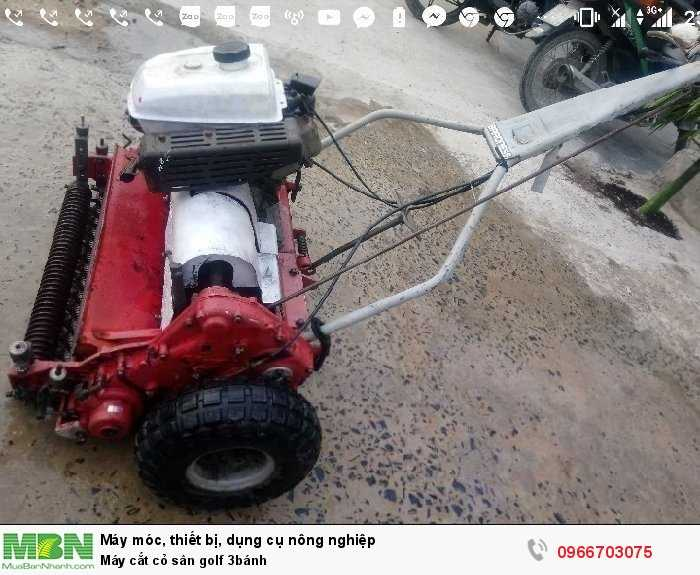 Máy cắt cỏ sân golf 3 lưỡi cắt bằng thép4