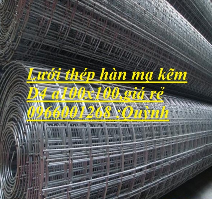 Lưới thép hàn D4,D5...D10 a 150x150,200x200 lưới thép hàn xây dựng giá rẻ2
