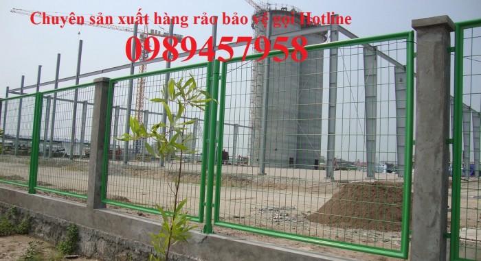 Chuyên sản xuất lưới hàn sơn tĩnh điện phi 5 ô 50x100, 50x2000