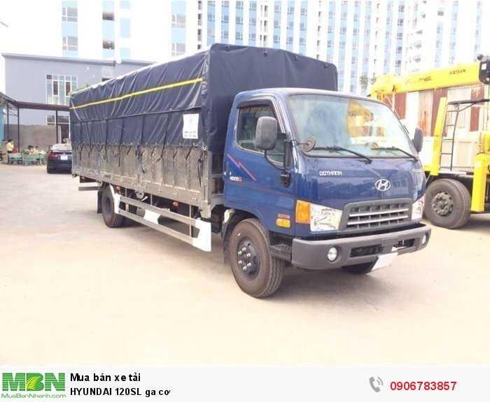 Hyundai HD120SL Xe tải động cơ Dầu diesel