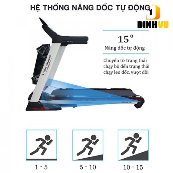 Máy chạy bộ đa năng HQ-V2C tại Hưng Yên, Hải Phòng0