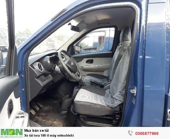 Xe tải nhẹ 990kg tera 100 tl máy mitsubishi cần thơ 1