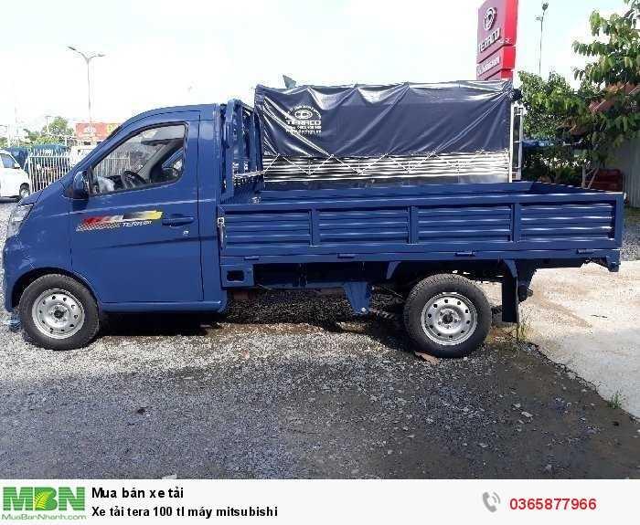 Xe tải nhẹ 990kg tera 100 tl máy mitsubishi cần thơ 3