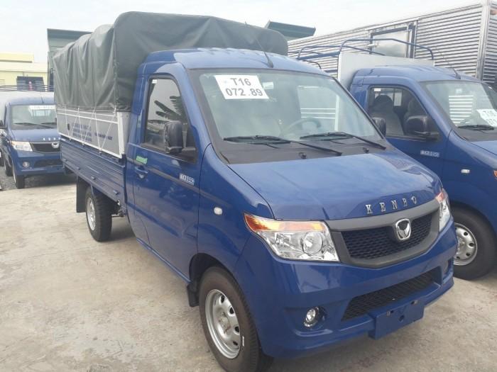 Xe tải kenbo thùng mui bạt 990kg đời 2019 6