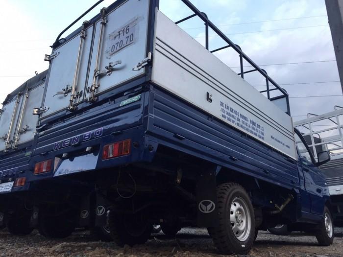 Xe tải kenbo thùng mui bạt 990kg đời 2019 5