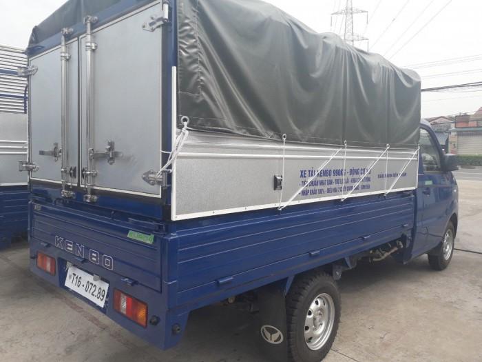 Xe tải kenbo thùng mui bạt 990kg đời 2019 4