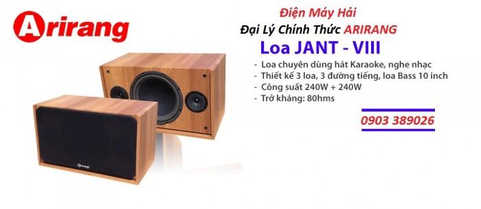 Loa Arirang Jant VIII bán tại Điện Máy Hải là cửa hàng Đại lý Arirang nên bán chỉ có 2,550K/ cặp3