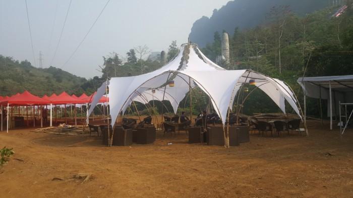 Mẫu gian hàng hội chợ quê